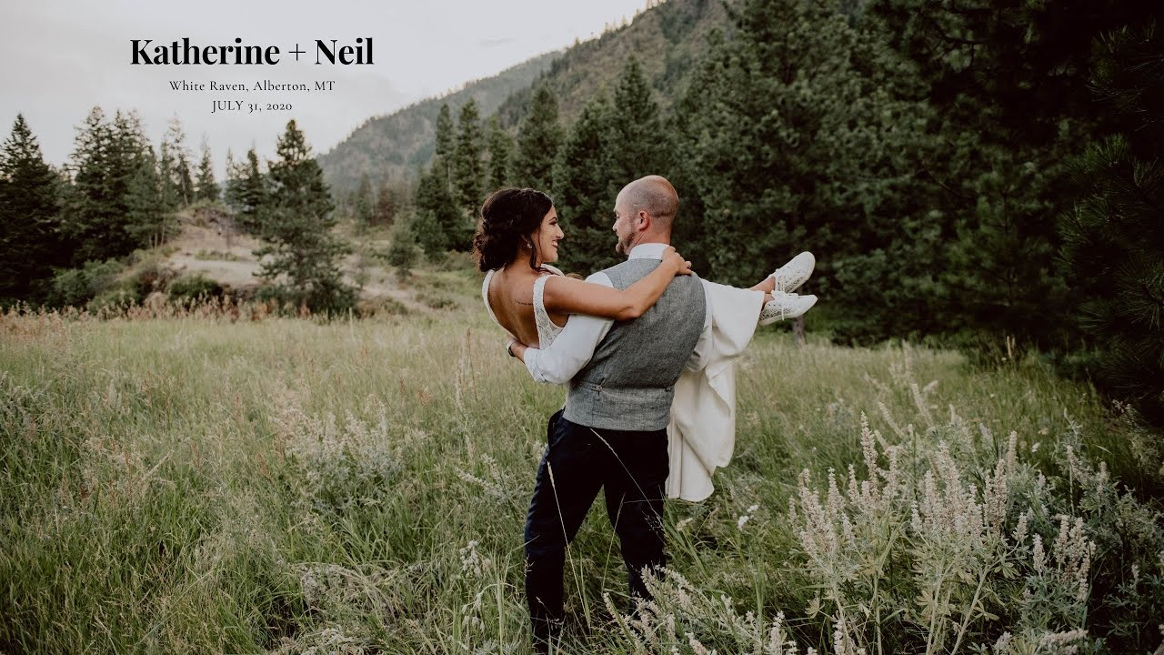 White Raven Montana Wedding | Katie + Neil | Infinite Photography and Film Missoula | Videographer