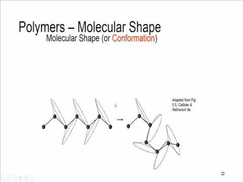 Session11-Structure and properties of materials MSE230-structure of polymers II