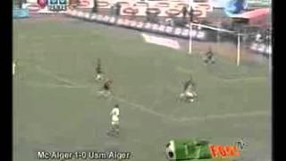 ملخص نهائي كأس الجمهورية 2007 مولودية الجزائر 1 _ 0 أتحاد الجزائر