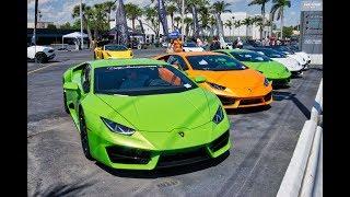 Lamborghini Koenigsegg Pagani BC Ferrari - Best of Exotics & Espresso at Prestige Imports Miami