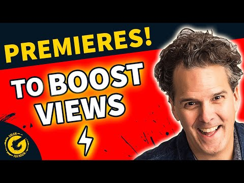 YouTube Premieres Feature - BOOST VIEWS