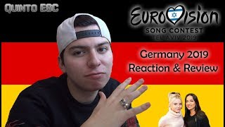 S!sters - Sister Reaction - Eurovision 2019 (Germany) - Quinto ESC