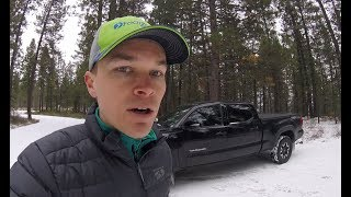 How does the Tacoma perform in snow and ice?