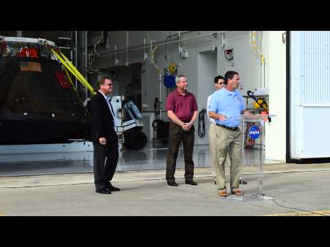 Orion Spacecraft returns to KSC