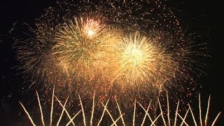 HD| Int. Fireworks Festival Hannover 2014: 1st Galaxy fireworks - feuerwerk
