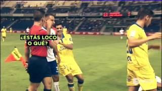Amistoso Tenerife - UD Las Palmas. Batalla campal con 4 expulsados.