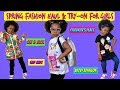 Girls Spring Fashion Haul & Try-On | Cat & Jack | The Children's Place | Art Class | Gap Kids