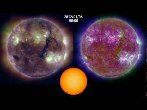 Fascinating Nature: Seven Months of Solar Activity, 2012, NASA SDO