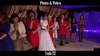 Свадьба в красных тонах в Энгельсе.Кафе Неаполь