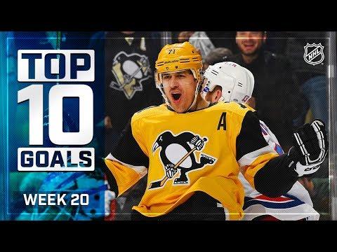 Top 10 Goals from Week 20
