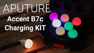 Die perfekten practical lights? Mit dem Aputure ACCENT B7C Kit mit Charging Case! | Erster Eindruck