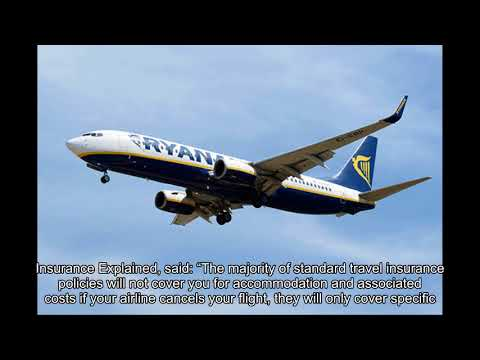 Ryanair cancelled flights WARNING: Why travel insurance does NOT cover the cancellations