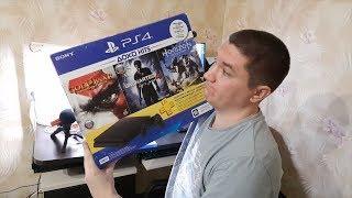 PlayStation 4 Slim распаковываем бандл с играми и ламповые воспоминания о соснолях былых лет!(, 2018-07-18T16:30:00.000Z)