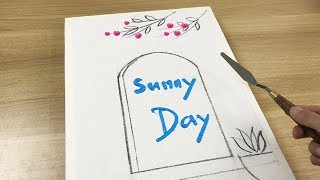 Daily Challenge #38 / Acrylic / Sunny Day Video