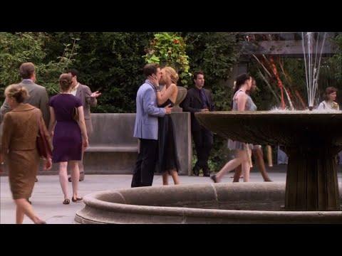 Gossip Girl Kiss Scene - Carter & Serena , Sebastian Stan & Blake Lively