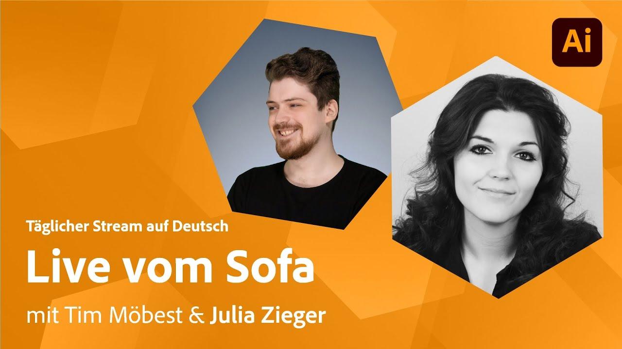 Posterdesign mit Tim Möbest und Julia Zieger |Adobe Live