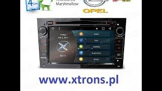 Radio Nawigacja OPEL Android XTRONS 6.0   www.Xtrons.pl