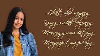 Menunggu kamu - Anji (Chintya Gabriella Cover) (Lyrics)