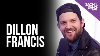dillon francis talks pooping his pants i backstage at the amas