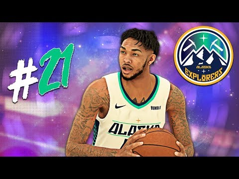 MONSTER Alley-Oop + Potential NBA Finals Match-up?! | NBA 2K19 MyLeague Expansion | EP20 thumbnail