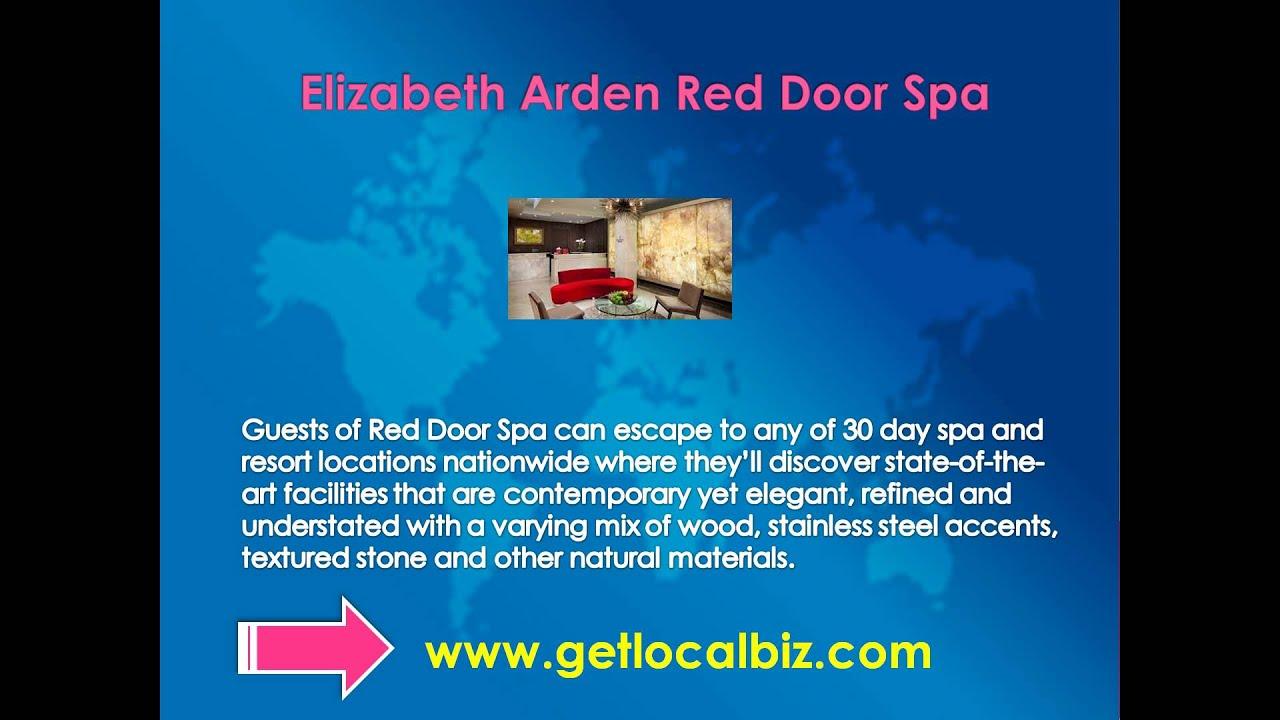Elizabeth Arden Red Door Spas A Luxury Day Spa Hair Salon Get