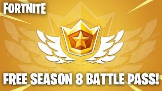 FREE SEASON 8 BATTLE PASS! HOW TO GET THE BATTLE PASS FOR FREE! (Fortnite Overtime Challenges Guide)
