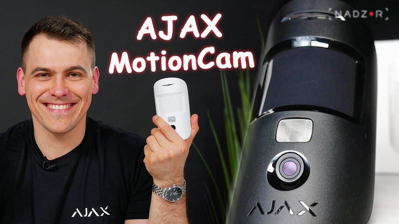 Ajax MotionCam - Датчик движения с фотокамерой для верификации тревог