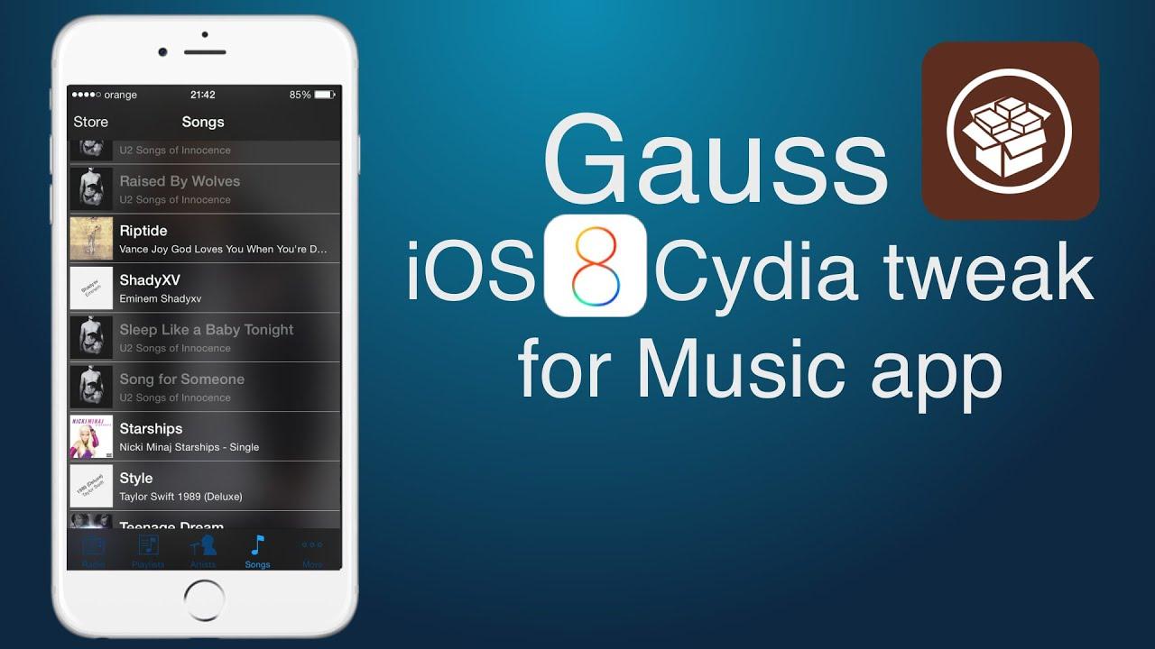 IOS 8 Cydia Tweak For The Music App