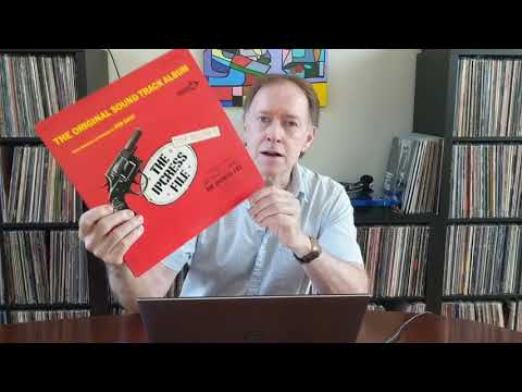 1965 The Ipcress File soundtrack. A Kevin McGivern Vinyl Record Review/Recommendation.