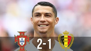 Portugal vs Belgium 2-1 - All Goals & Extended Highlights - 29/03/2016 HD