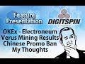 $ETN #Electroneum OKEx - #Veruscoin Mining - Chinese Ban - Unbanked Rush