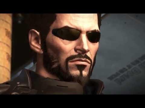 Deus Ex: Mankind Divided Cutscenes (Game Movie) Directors Cut 4k