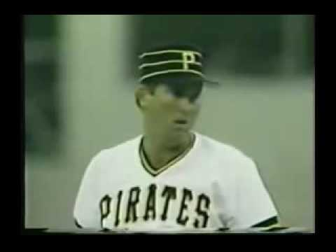 1986 MLB. New York Mets vs Pittsburgh Pirates