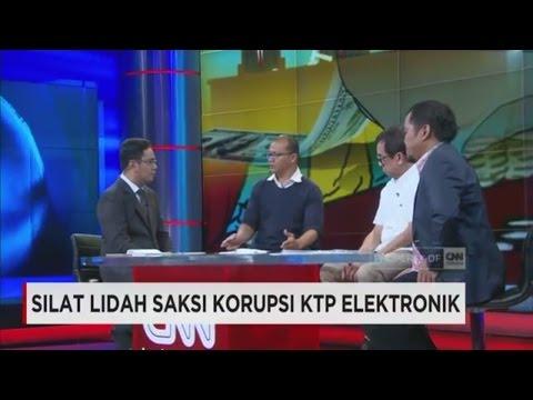 Silat Lidah Saksi Korupsi KTP Elektronik