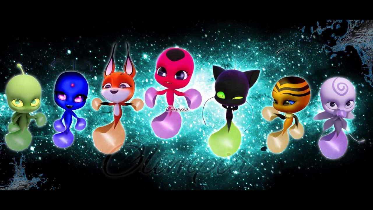 Miraculous Ladybug Speededit Aqua Kwamis Season 2 3 Youtube