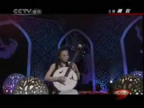 Chinese medium Ruan music:酒狂