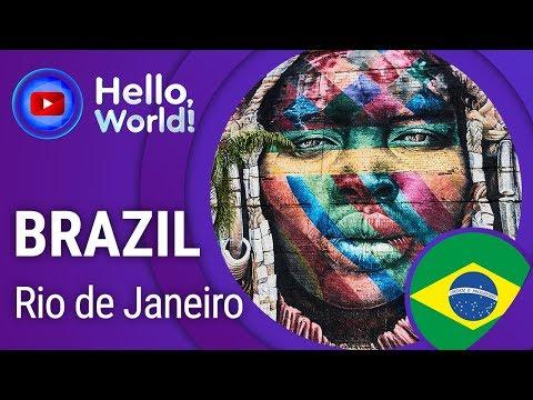 "RIO DE JANEIRO • BRAZIL • TravelGuide""Hello World"" 60FPS. Tourist ""mecca"" of Latin America"