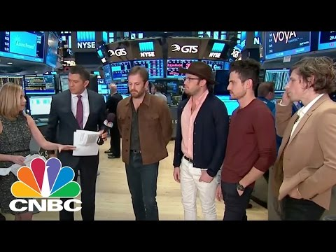 Kings Of Leon Visit NYSE To Discuss New Album 'WALLS' | CNBC