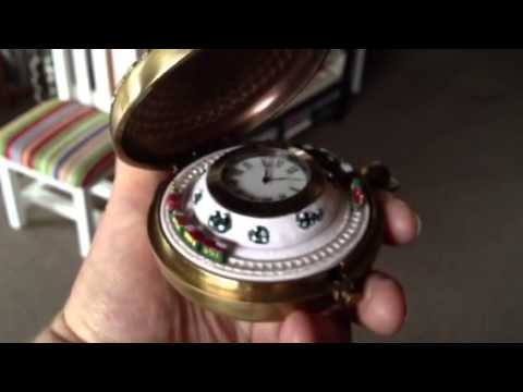 Granny's Christmas Grotto 2012 in Marton, NZ ..... Mr Christmas Pocket Watch with Train