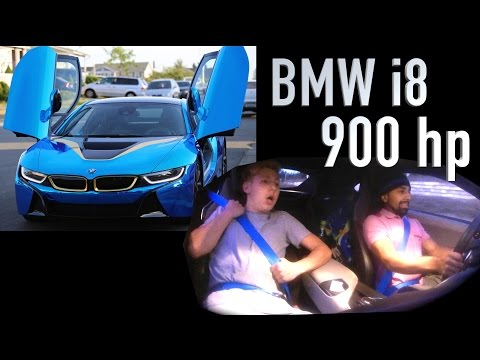 Bmw I8 Rendered With Spoilers And Beefy Aftermarket Wheels Fooyoh
