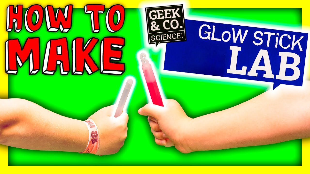 ASSISTANT How To Make Glow Sticks The Engineering Family Funny