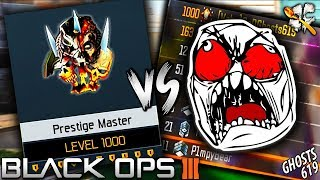 Black Ops 3 LEVEL 1000 VS TRASH TALKERS! NEW Sticks and Stones!