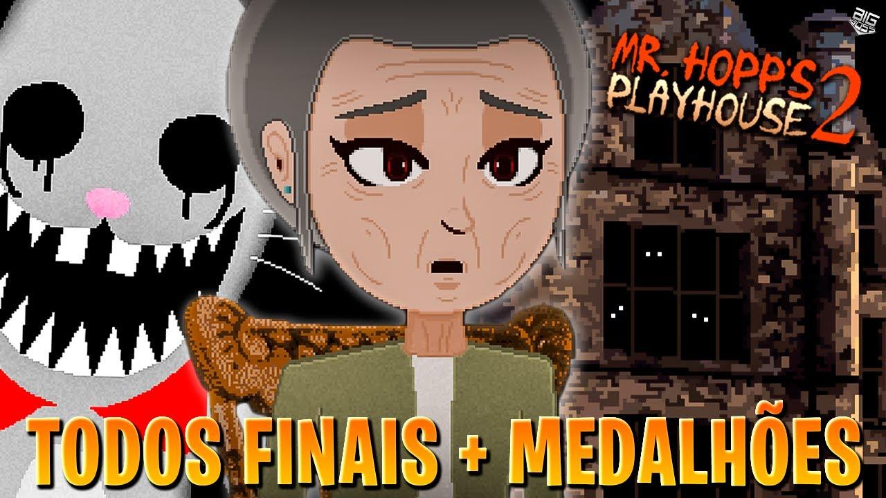 Mr. HOPPS 2 - TODOS OS FINAIS, TODOS MEDALHÕES e SEGREDOS │ big boss