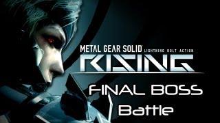 ★Metal Gear Rising: Revengeance - Final Boss Battle (Ending)