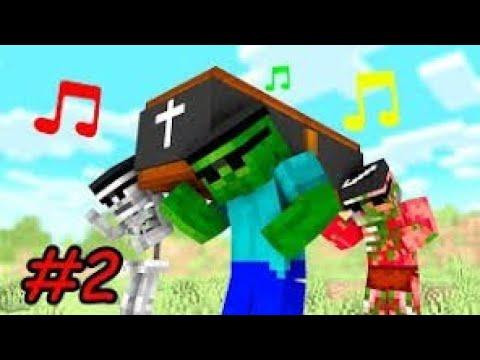 COFFIN DANCE MEME MINECRAFT PART 2 - YouTube