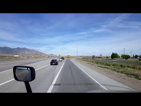 BigRigTravels LIVE! Springville to West Valley City,  Utah Interstate 15
