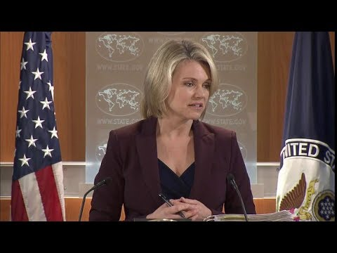 Department Press Briefing - January 23, 2018