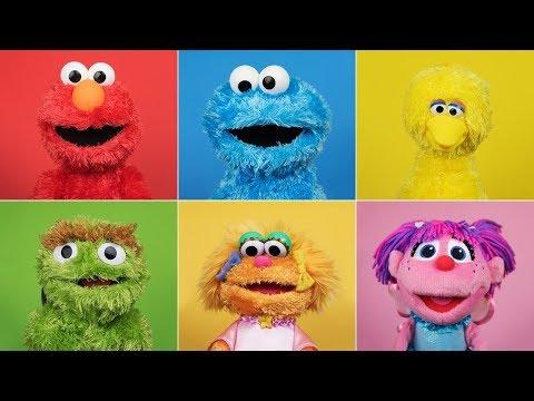 Guess the Sesame Street Toys - Elmo, Cookie Monster, Zoe, Big Bird, Abby Cadabby, Grover, Julia