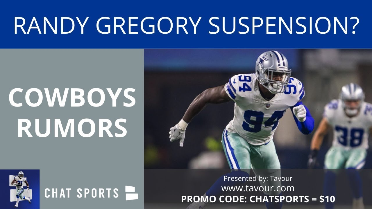 94038bbd4 Cowboys Rumors  Randy Gregory Suspension
