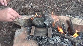 How to make lead ingots in the field using minimal tools
